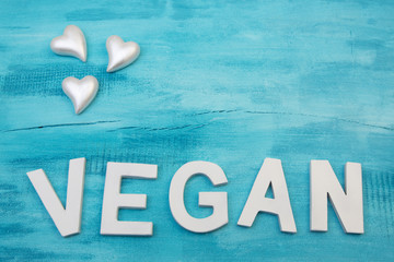 Vegan mit drei Herzen