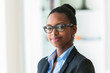 Portrait of a young African American business woman - Black peop - 80202622