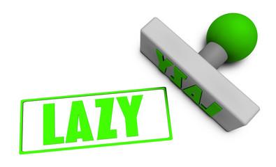 Lazy Stamp