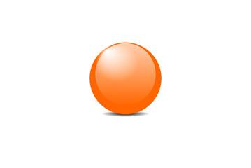 orangene Kugel