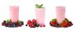Smoothies of berries