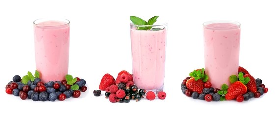 Smoothies of berries