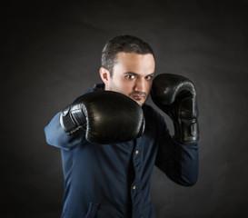 boxer strikes