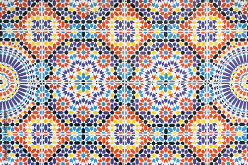 Fotobehang Marokko Morocco pattern