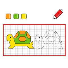 gioco griglia tartaruga
