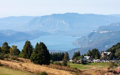 Lac du Bourget depyuis la Féclaz