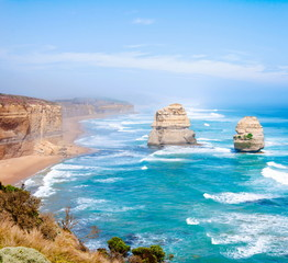 The Twelve Apostles by the Great Ocean Road, Victoria, Australia