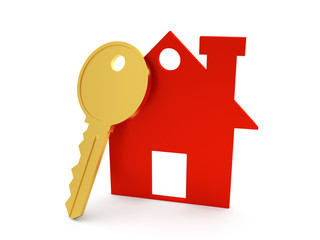 3d Home with Key