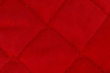 bright red fabric