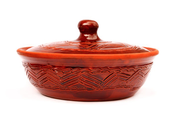 Annealed clay pot
