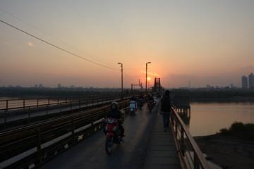 Hanoi Long-Bien-Brücke