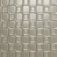 Background of white classic glossy tile
