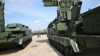 Exposure exhibition of arms and military equipment Oboronekspo