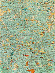 Old cracked painted surface