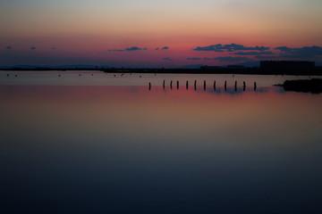 Gün batımı sonrası