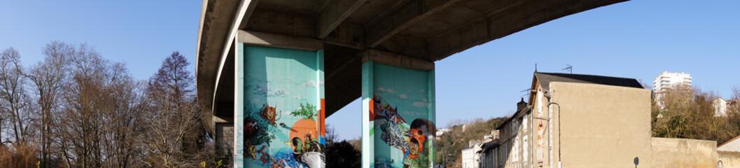 street art ou art urbain à Poitiers