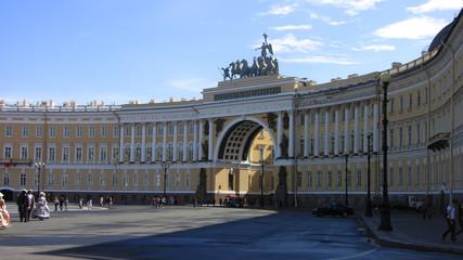 Санкт-Петербург, Дворцовая площадь. Арка Главного штаба