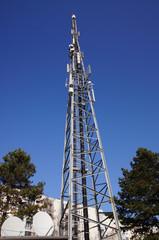 Antenne relais dans le quartier des couronneries à Poitiers