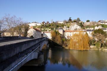 Pont de rochereuil à Poitiers