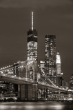 Manhattan at night - 80217488