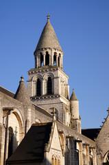Clocher de l'église Notre-Dame-la-Grande de Poitiers