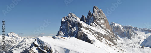 Foto op Canvas Alpen Odle