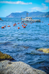 Italian Cinque Terre Fishing Boat