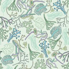 Seaweeds pattern
