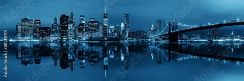 Manhattan Downtown reflections