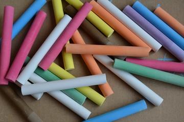craies multicolores
