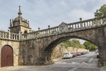 Pedestrin bridge on Fefinhanes palace