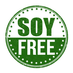 Soy free stamp