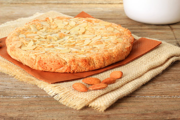 Dutch almond cake. Also available in vertical.