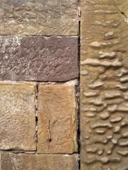 Alte Sandsteinwand