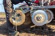 Leinwanddruck Bild - Tractor reparations