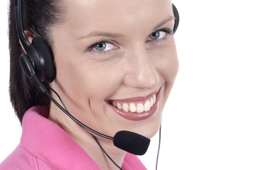 Headset and smile