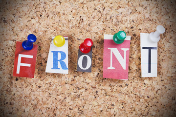 Front Word