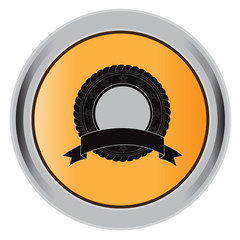 empty badge, button, vector, illustration