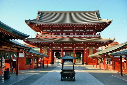 Plagát, Obraz Tokyo temple