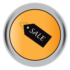 button,  Icon, sale, tag, Isolated, Vector, illustration