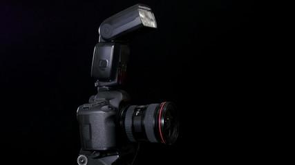 Professional DSLR camera footage in 4K UHD