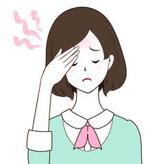 女性 発熱