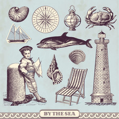 seaside design elements