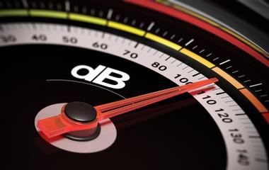 dB, Decibel level