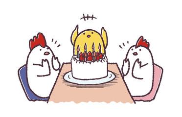 ヒヨコ誕生日