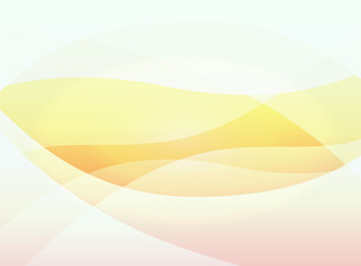 Orange warm vector background