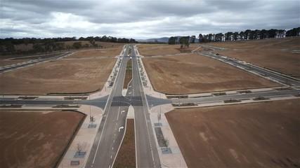 Development of a new suburb