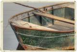 Vintage postcard of boat