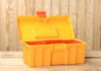 Caja de herramientas abierta