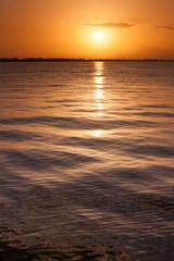 Sunset at Mediterranean Sea